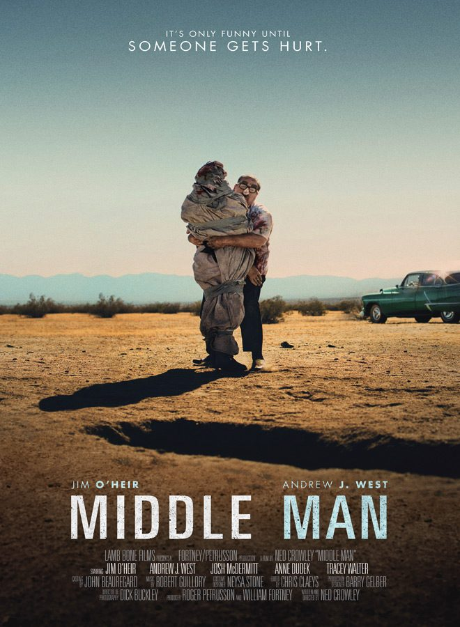 middle man poster - Interview - Josh McDermitt