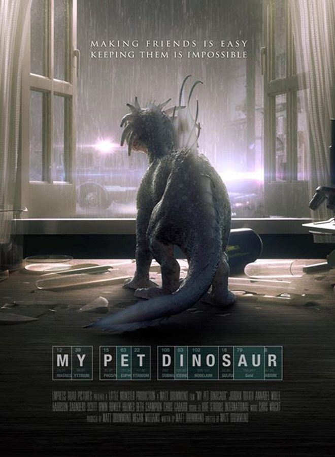 pet dino poster - My Pet Dinosaur (Movie Review)