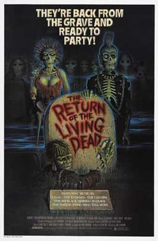 the return of the living dead movie poster 1985 1010682267 - Interview - Jimmy Urine of Mindless Self Indulgence