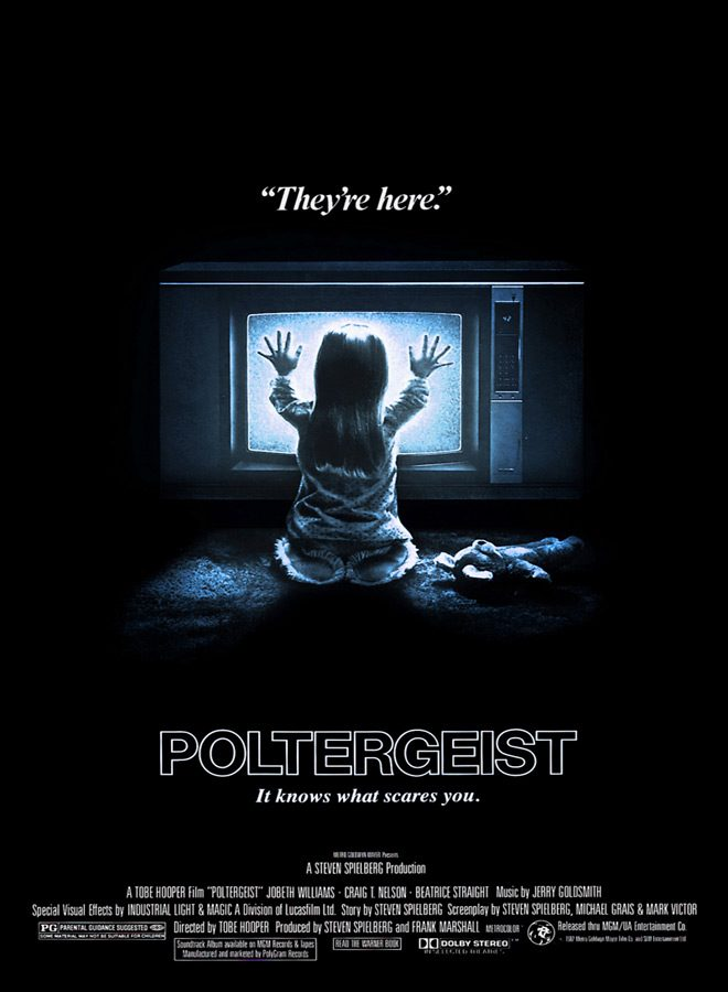 Poltergeist 1982 movie poster 1 - Poltergeist - Still Haunting 35 Years Later