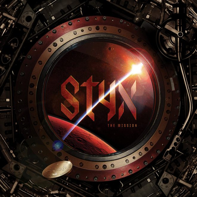 Styx The Mission album artwork - Styx - The Mission (Album Review)