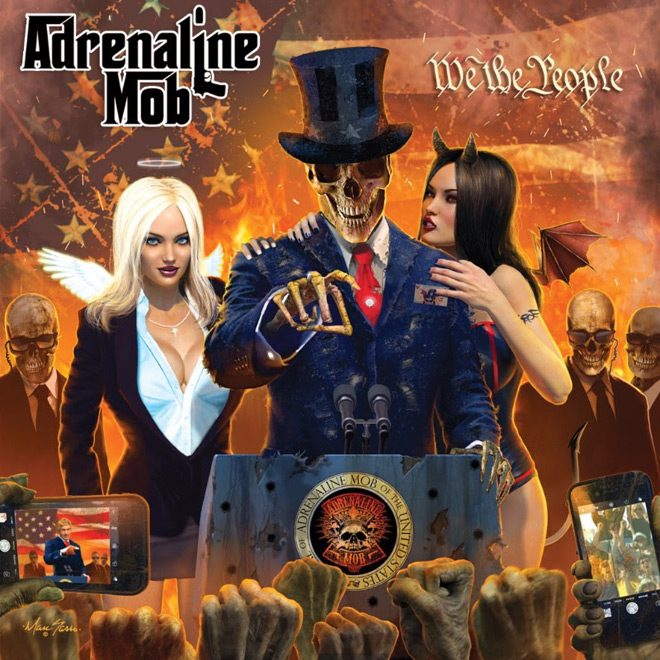 adrealine mob - Adrenaline Mob - We The People (Album Review)