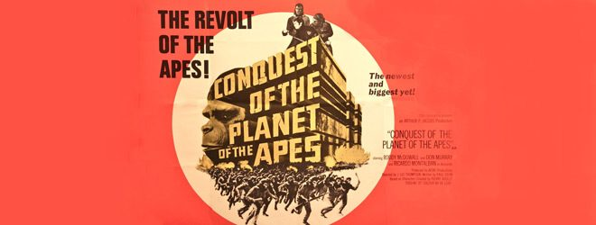 apes slide - Conquest of the Planet of the Apes 45 Years Later