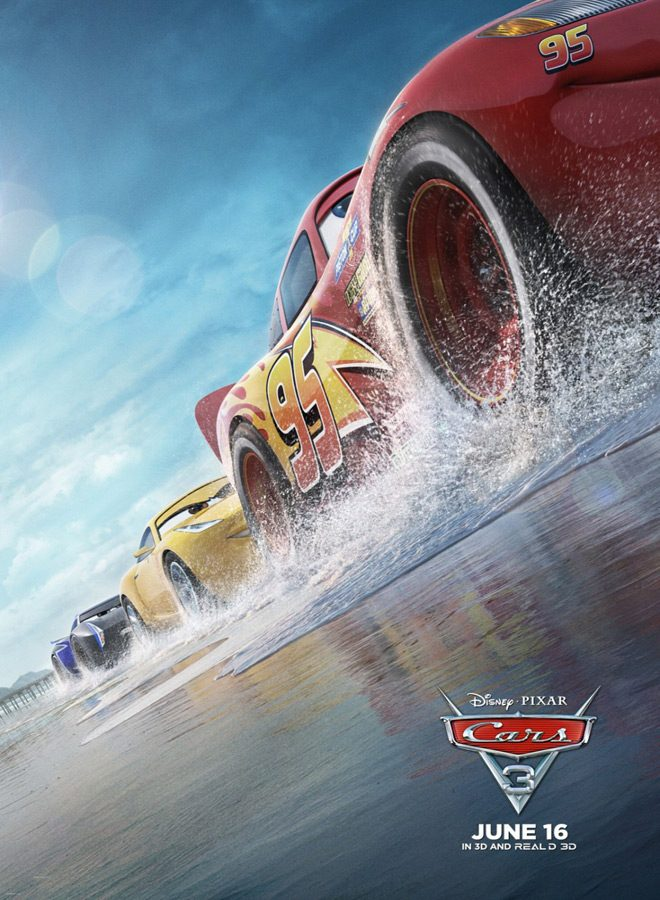 cars 3 poster - Cars 3 (Movie Review)
