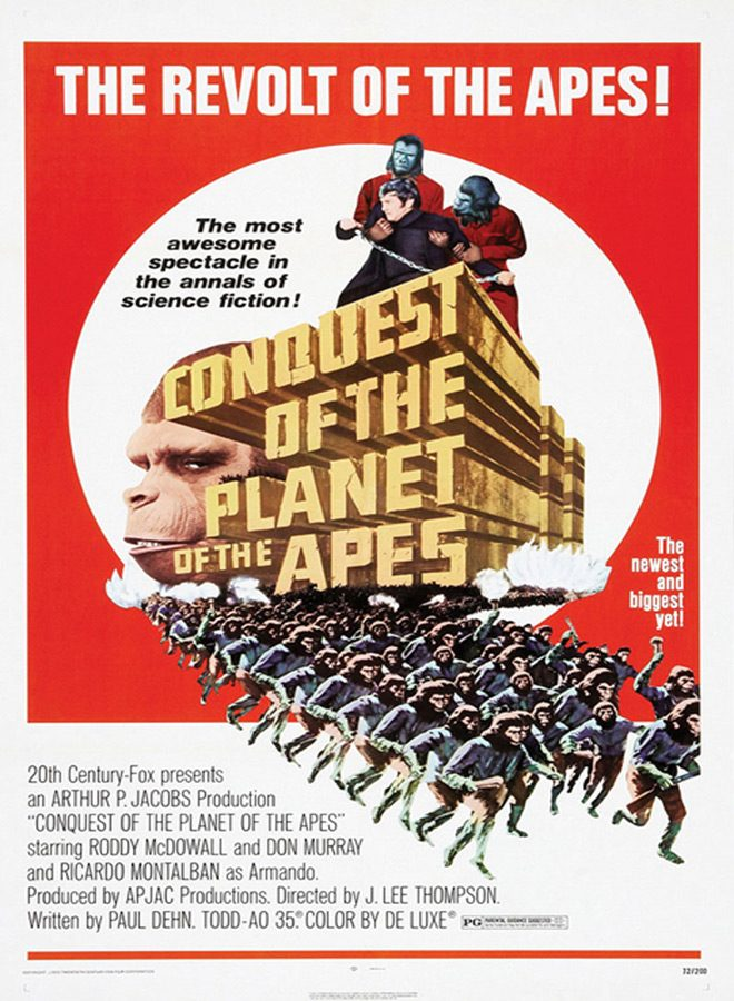 conquest poster - Conquest of the Planet of the Apes 45 Years Later