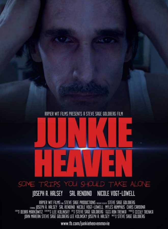 junkie heaven poster - Junkie Heaven (Movie Review)