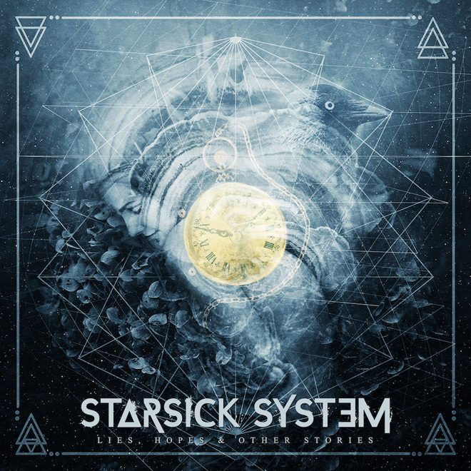 starsick system album cover - Starsick System - Lies, Hopes & Other Stories (Album Review)