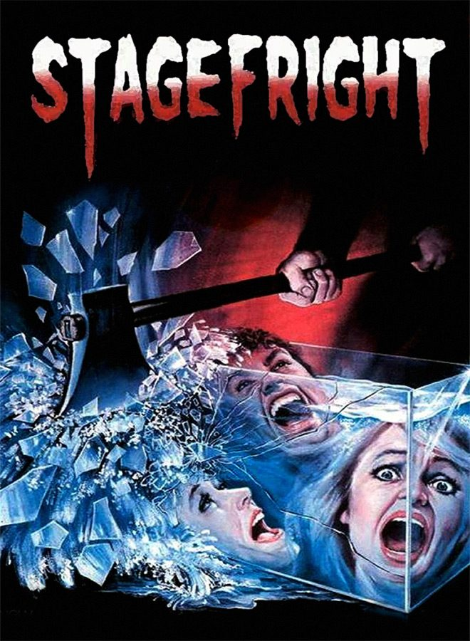 Stagefright 1987 poster 1 - StageFright - Slashing Curtains 30 Years Later