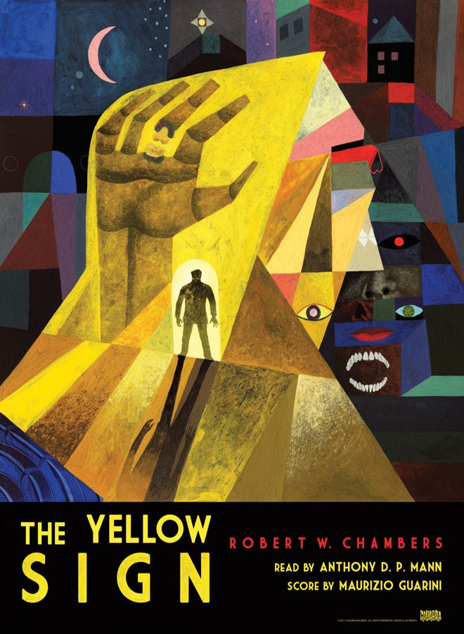 TYS 18 x 24 Poster copy - Exclusive Sampling Of Robert W. Chamber's The Yellow Sign