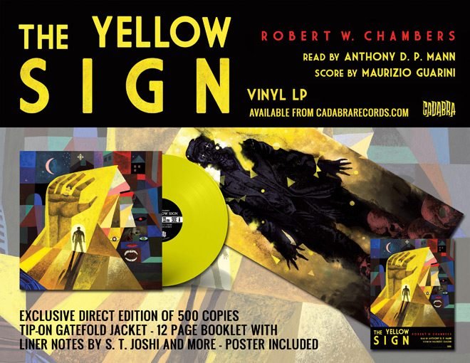 TYS ad - Exclusive Sampling Of Robert W. Chamber's The Yellow Sign