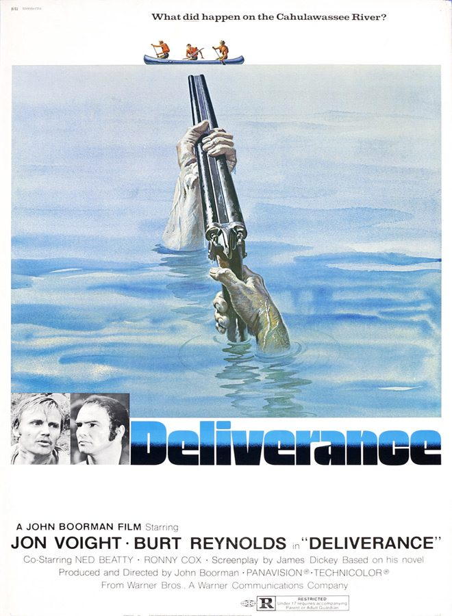 del poster - Deliverance - Making People Squeal 45 Years Later