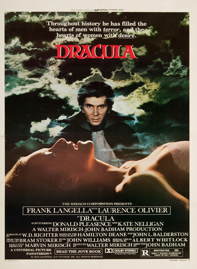 dracula movie poster 1979 - This Week in Horror Movie History - Dracula (1979)