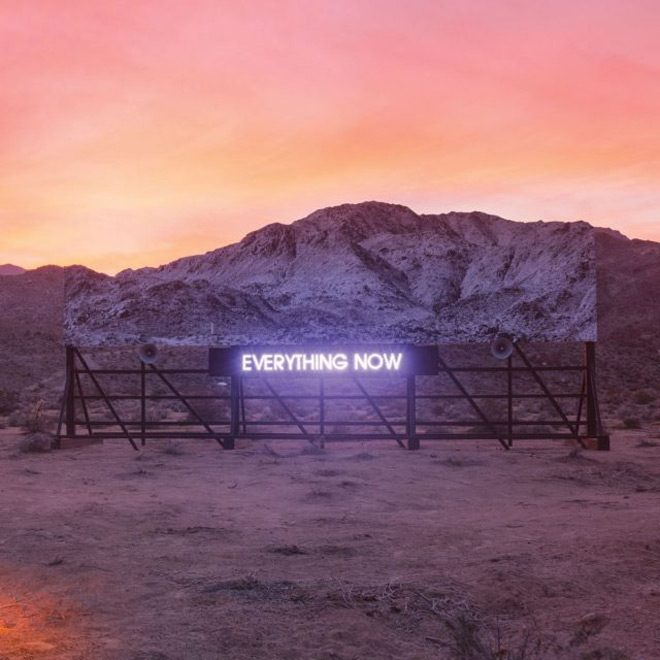 everything now album cover - Arcade Fire - Everything Now (Album Review)