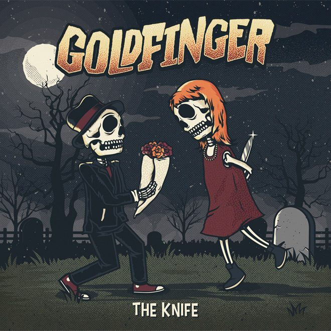 gold album - Goldfinger - The Knife (Album Review)