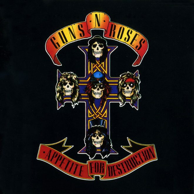 guns album - Guns N' Roses - An Appetite For Destruction 30 Years Later