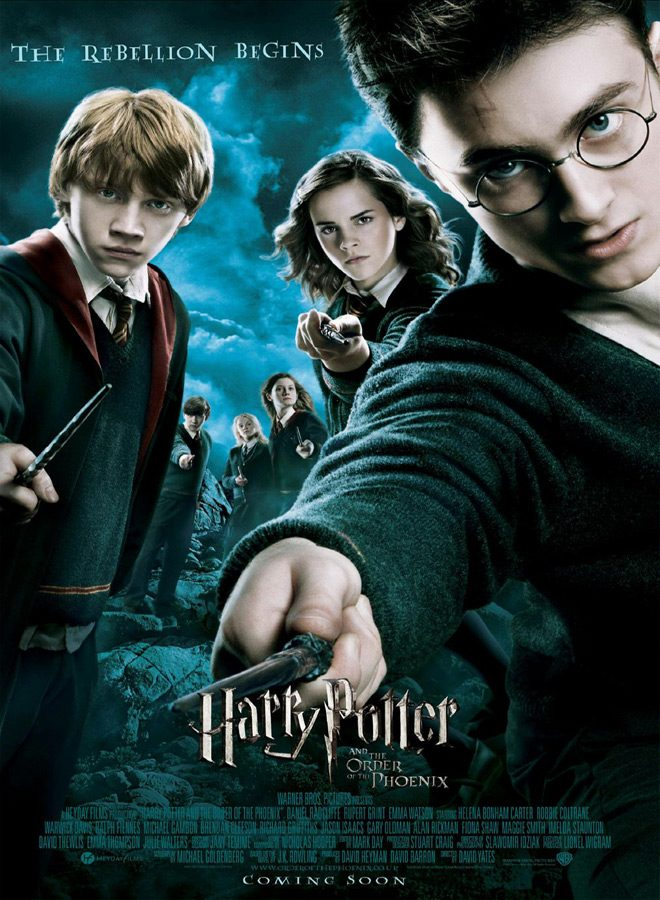 harry poster - Harry Potter and the Order of the Phoenix - A Magical Journey 10 Years Later