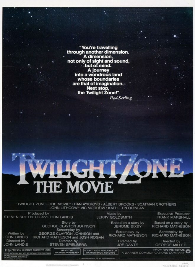 twilight poster - This Week In Horror Movie History - Twilight Zone: The Movie (1983)