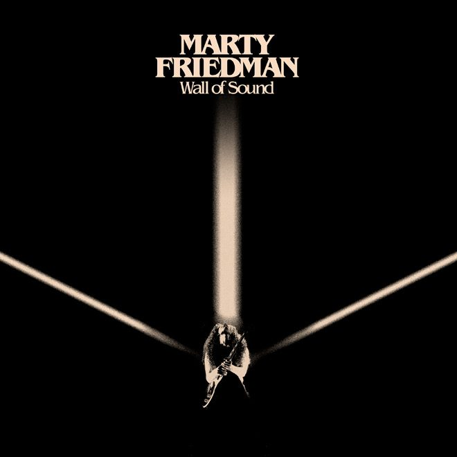 Marty Friedman.Wall of Sound.3000x3000 - Marty Friedman - Wall Of Sound (Album Review)