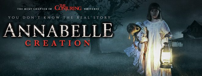 an slide - Annabelle: Creation (Movie Review)