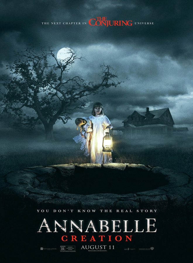 annabelle poster - Annabelle: Creation (Movie Review)