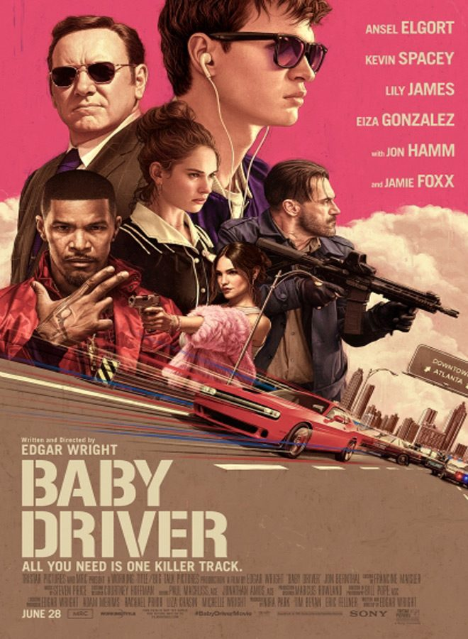 baby poster - Baby Driver (Movie Review)
