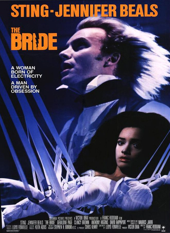 bride poster - This Week in Horror Movie  History - The Bride (1985)