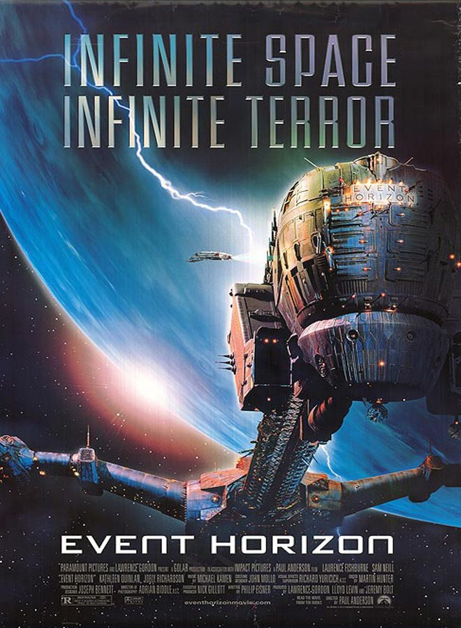 event poster - Event Horizon - 20 Years In The Black Hole