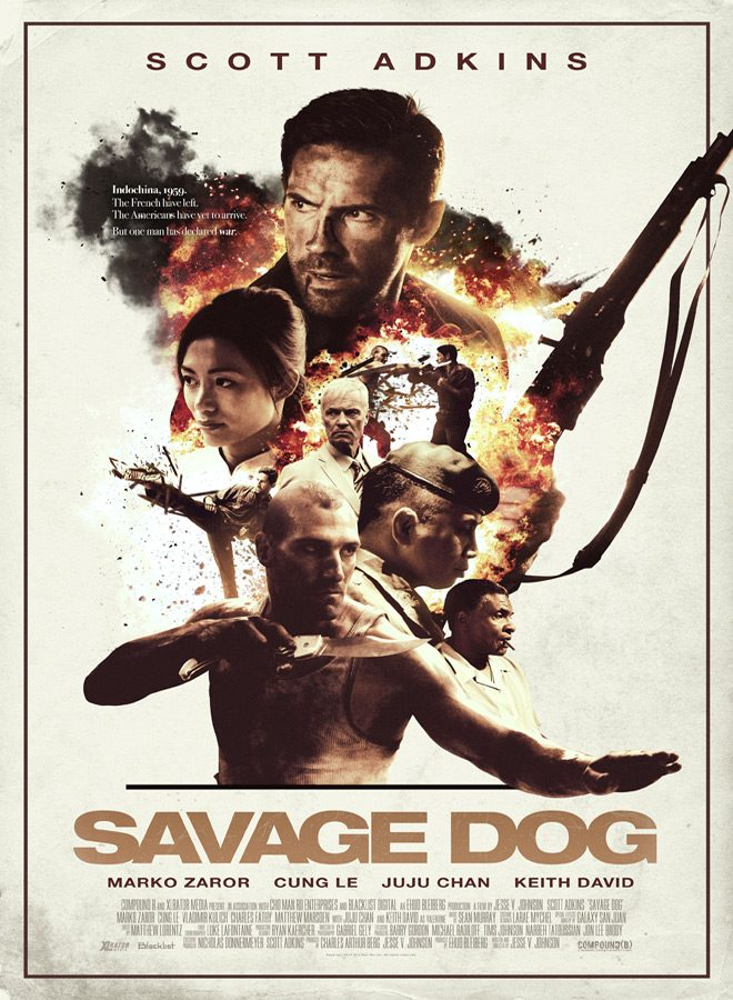 savage poster - Savage Dog (Movie Review)