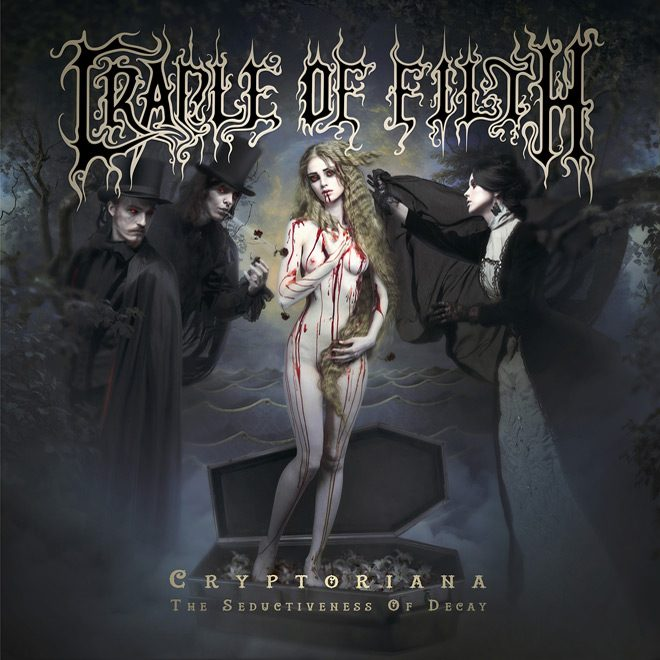 Cradle Of Filth Cryptoriana The Seductiveness Of Decay Artwork - Interview - Dani Filth Talks Decay
