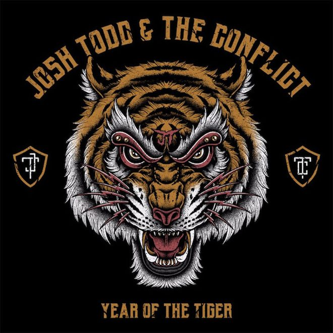 Josh Todd The Conflict Year of the Tiger - Josh Todd & The Conflict - Year of the Tiger (Album Review)