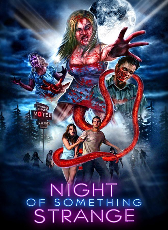 Night of Something Strange poster - Night of Something Strange (Movie Review)