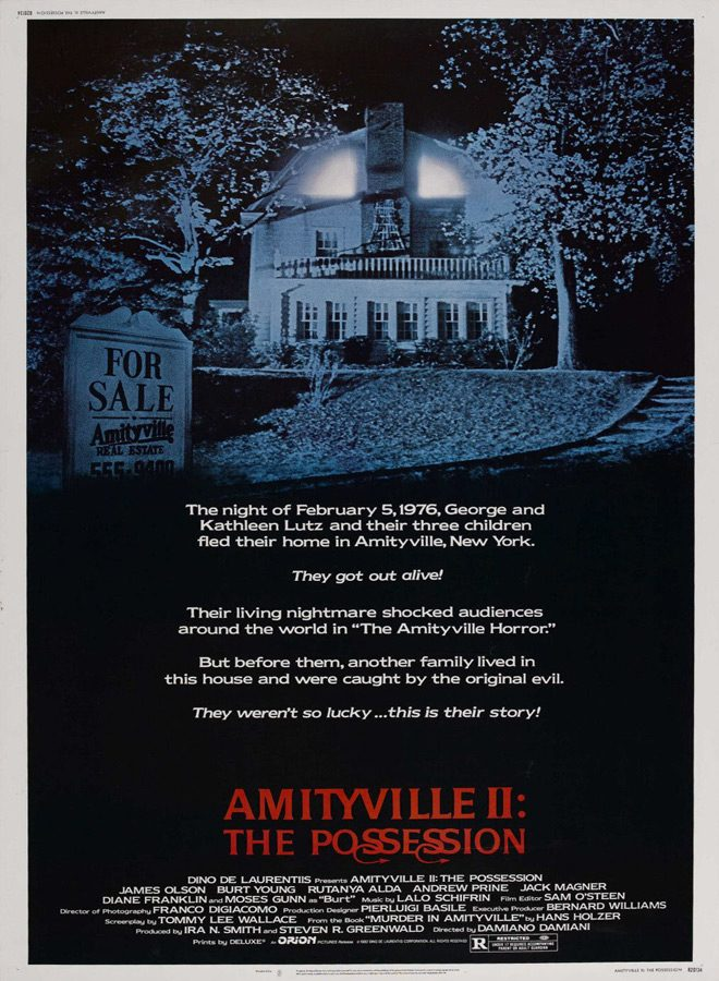 amityville poster 1 - Amityville II: The Possession 35 Years Later