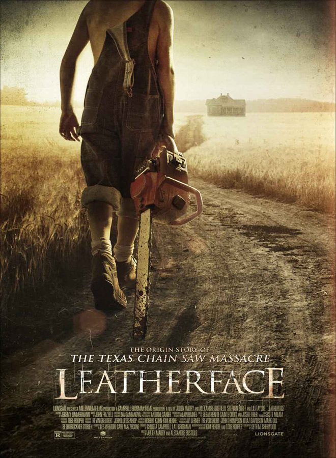 leatherface poster - Interview - Sam Strike
