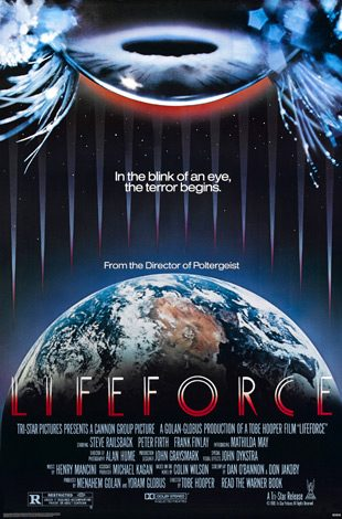 lifeforce poster 02 - Tobe Hooper - The Man Behind The Saw