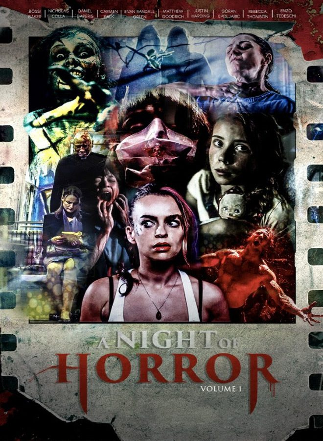 night of horror poster - A Night of Horror: Volume 1 (Movie Review)