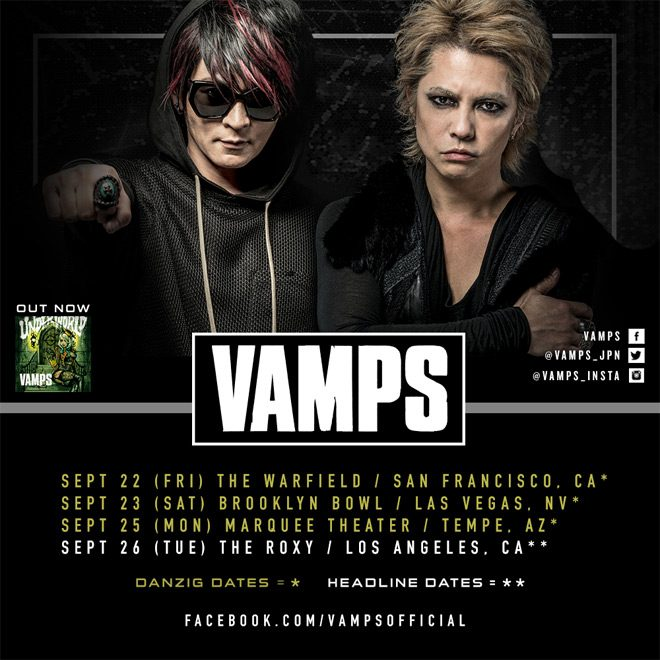 tour vamps - Interview - VAMPS