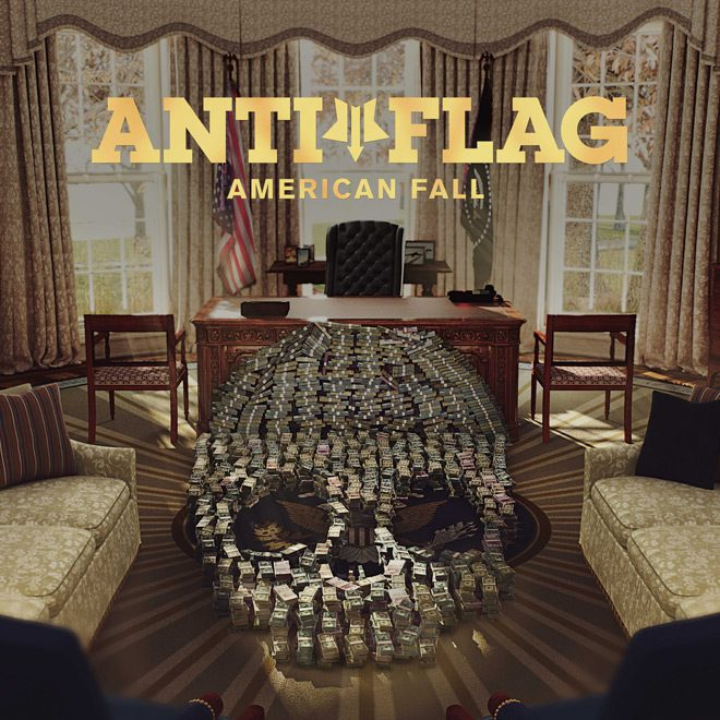 AF American Fall Cover RGB Smaller - Anti-Flag - American Fall (Album Review)