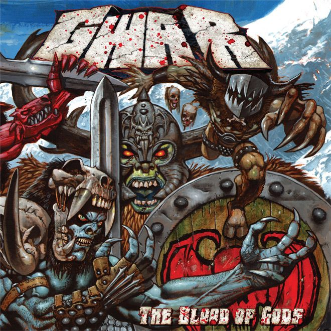 GWAR   The Blood of Gods Smaller - GWAR - The Blood of Gods (Album Review)