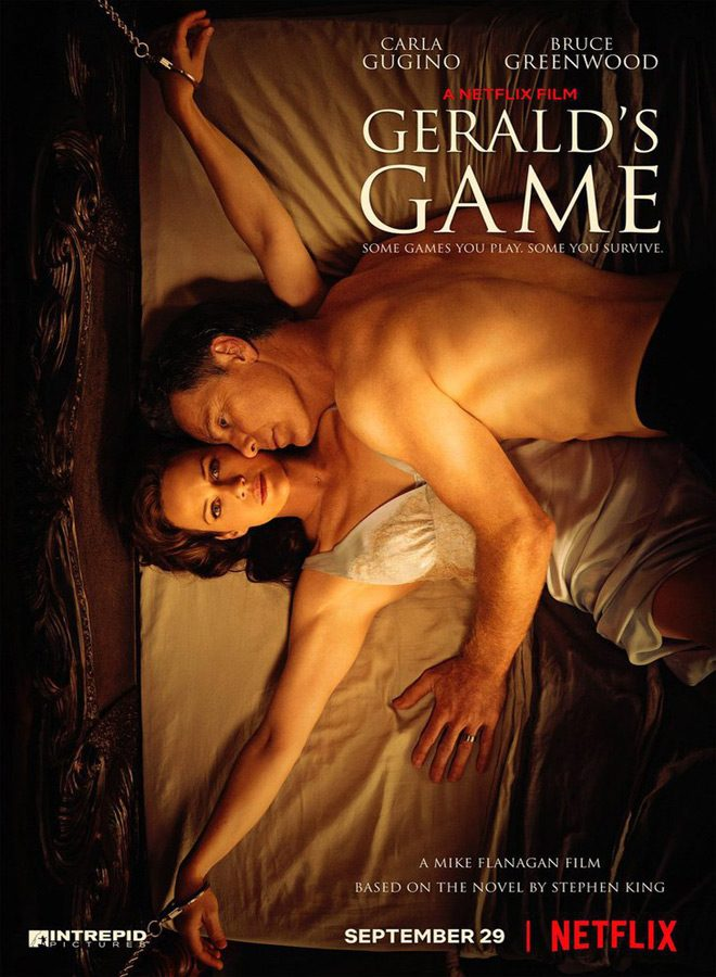 Geralds Game movie poster - Gerald's Game (Movie Review)