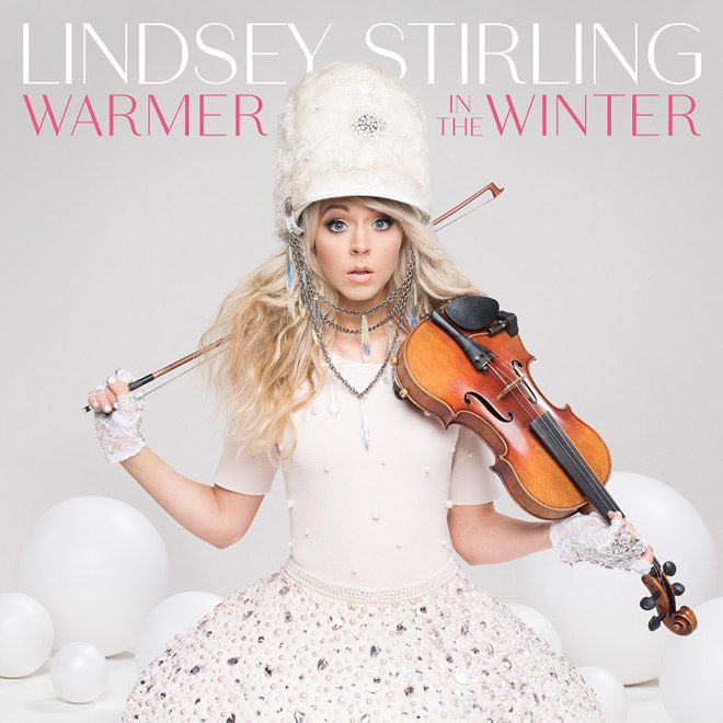 Lindsey Stirling cover - Lindsey Stirling - Warmer In The Winter (Album Review)