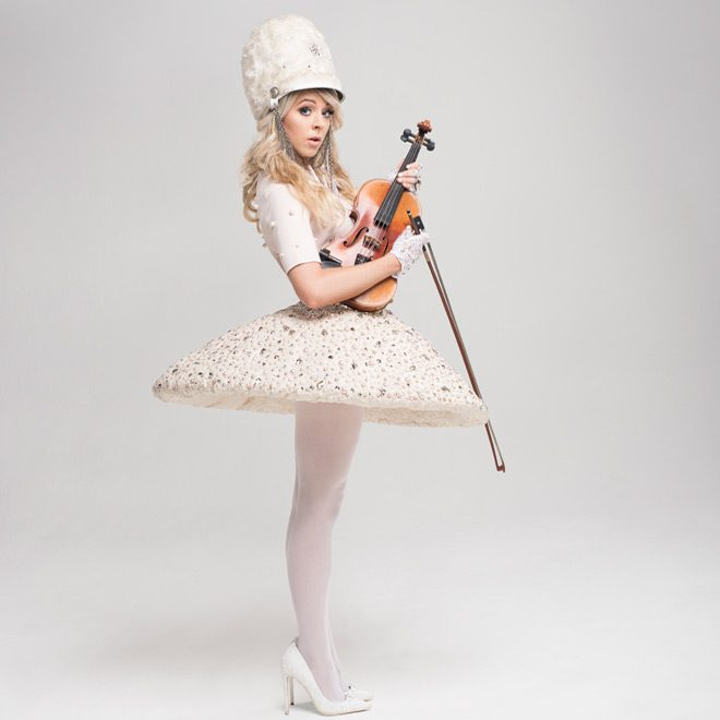 Lindsey Stirling photo 4 by Cara Robbins - Lindsey Stirling - Warmer In The Winter (Album Review)