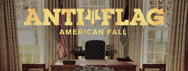 af slide - Anti-Flag - American Fall (Album Review)