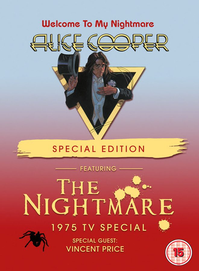alice - Alice Cooper - Welcome To My Nightmare (Live DVD Review)