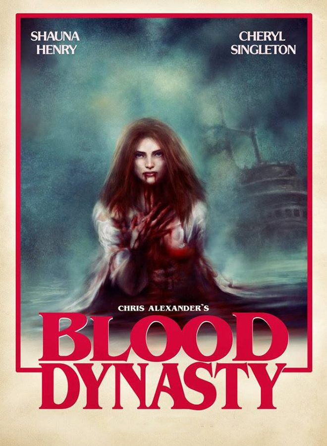blood poster - Blood Dynasty (Movie Review)