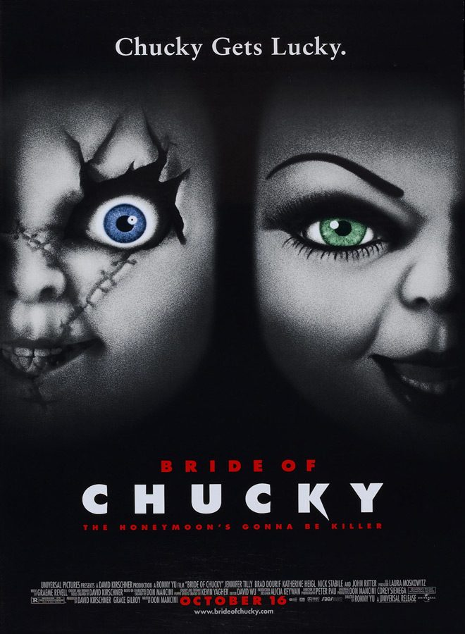 bride of chucky - This Week In Horror Movie History - Bride of Chucky (1998)