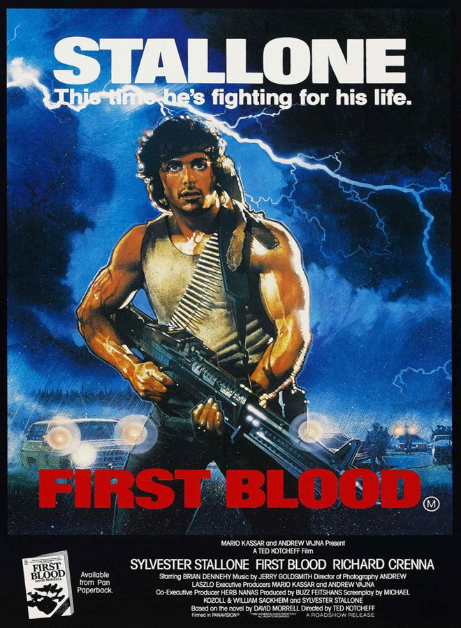 first blood poster - First Blood - Rambo Lives 35 Years Later