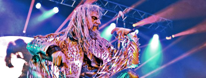 zombie october live slide 3 - Rob Zombie Wakes The Dead In Greenville, SC 10-2-17