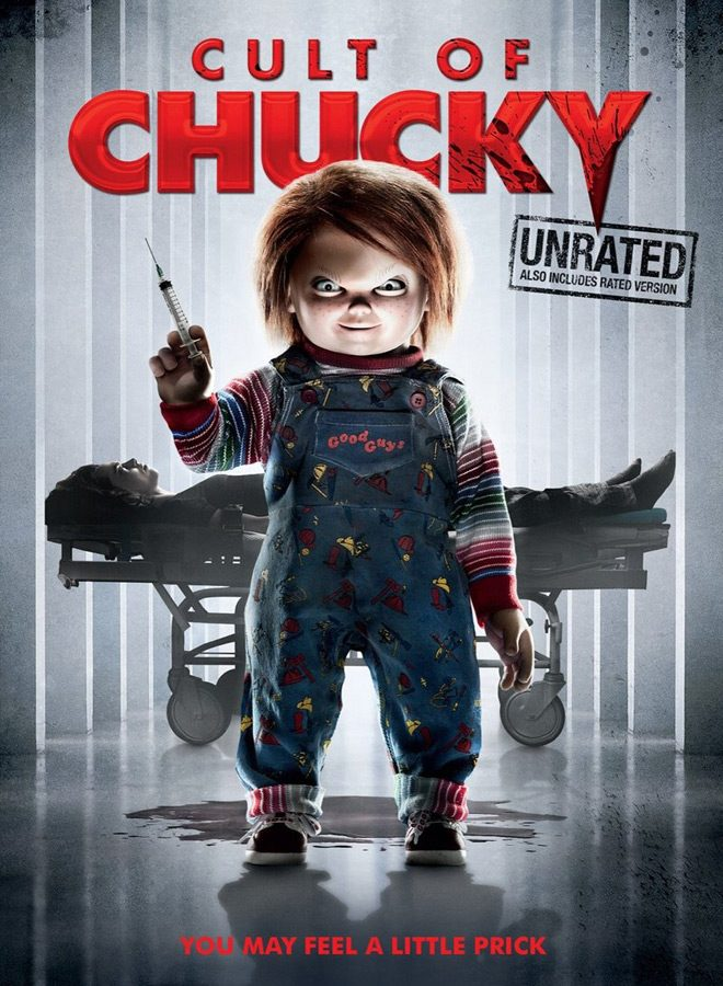 Cult of Chucky 2017 movie poster - Cult of Chucky (Movie Review)