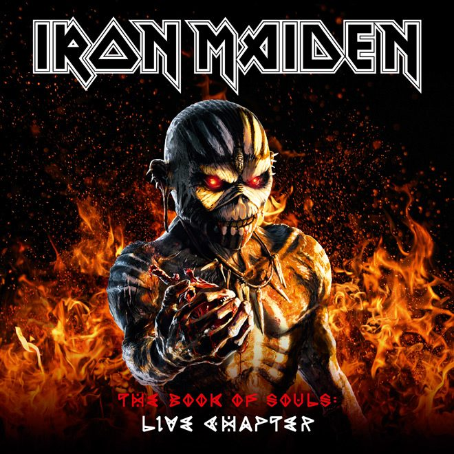 Live Chapter Small - Iron Maiden - The Book of Souls: Live Chapter (Album Review)