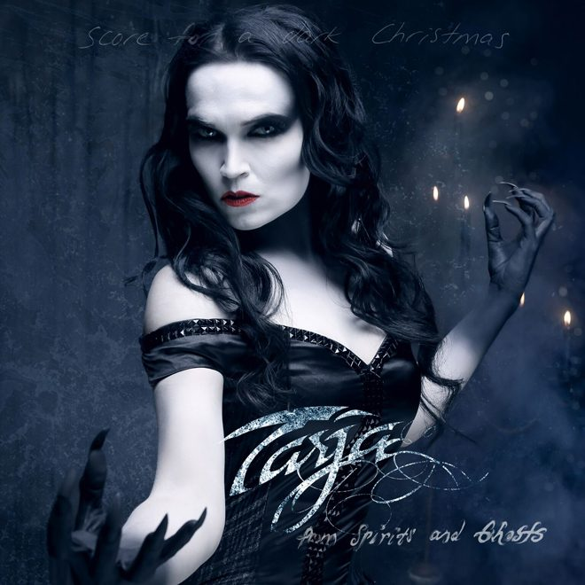 Tarja From Spirits And Ghosts Score For A Dark Christmas cover CD - Interview - Tarja Turunen Talks From Spirits And Ghosts